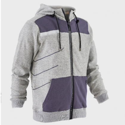 SOHO HOODED ZIPPED FLEECE